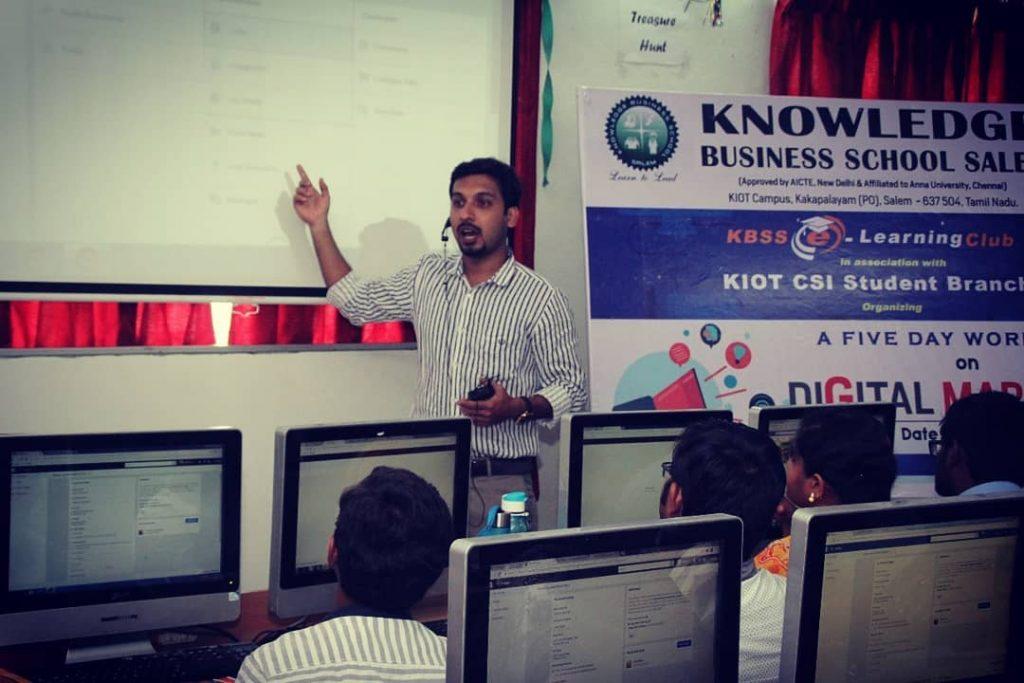 personal digital marketing training